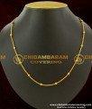SHN003 – Gold Plated Daily Wear Ball Model Short Chain Design Buy Online