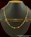 SHN006 - Beautiful Heart Design Gold Plated Short Chain Design Buy Online