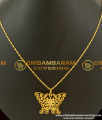SCHN032 - Fashionable Butterfly Pendant With Short Chain Gold Plated Jewelry