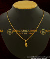 SCHN095 - One Gram Gold Daily Wear Small Pendant Collection Online