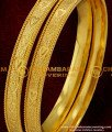 BNG012 - 2.6 Size Machine cut Heartin Design Daily Use Covering Bangles Collection Online