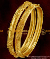 BNG019 - 2.4 Size Gold Bangle Type Design South Indian Guarantee Jewelry Collections Online
