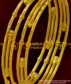 BNG029 - 2.6 Size Handmade Gold Like Forming Bangle Imitation Jewellery Shop Online