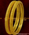 BNG039 - 2.8 Size Unique Gold Inspired Bangle Type Design South Indian Guarantee Jewelry Online