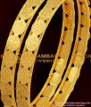 BNG052 - 2.6 Size South Indian Style Traditional Gold Plated Lakshmi Coin Kasu Bangles Online Shopping