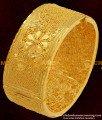 BNG062 - 2.6 Size Flower Design Kada Bangles 1 Gram Guarantee Wedding Bangles For Women