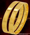 BNG075 - 2.6 Size Simple Look Plain Bangles Daily Wear Bangles Collection Online