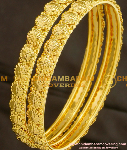 BNG085 - 2.4 Daily Wear Gold Plated Bangles Designs at Affordable Price Buy Online