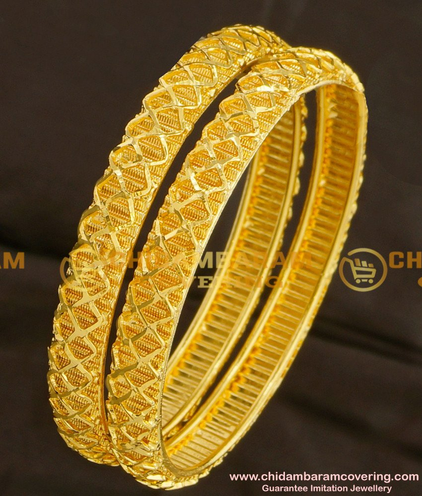 BNG086 - 2.4 New Collections South Indian Bridal Bangles Set Online Shopping