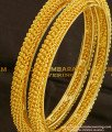 BNG092 - 2.4 Size New Style Designer Bangles Set from Chidambaram Covering