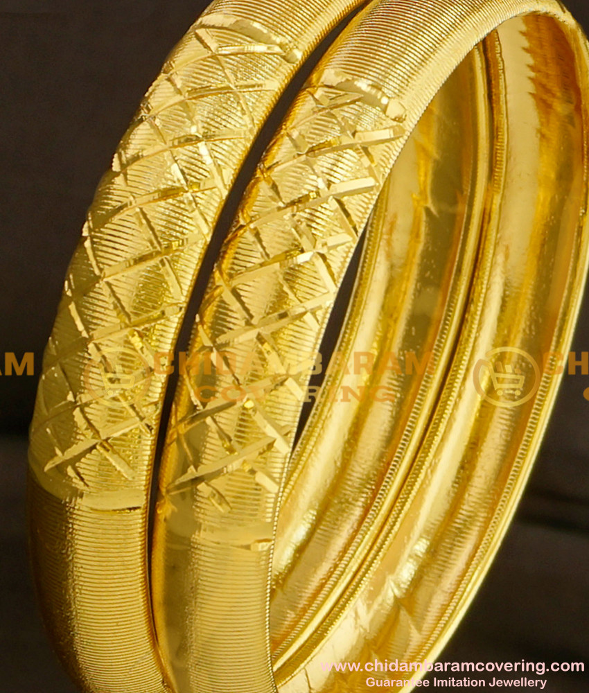 BNG094 - 2.6 Light Weight Daily Wear Shiny Bangles Designs at Affordable Price Buy Online