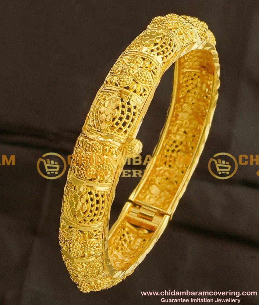 BNG101 - 2.4 Size Premium Quality Designer Openable Mini Kada Single Bangle