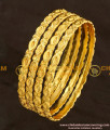 BNG107 - 2.4 Size Solid Guarantee Bangles Design Set Of 4 Pcs for Daily Use