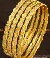 BNG107 - 2.6  Size Solid Guarantee Bangles Design Set Of 4 Pcs for Daily Use