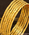 BNG110 - 2.4 Size One Gram Gold Daily Wear 6 Pcs Bangles Imitation Bangle Online