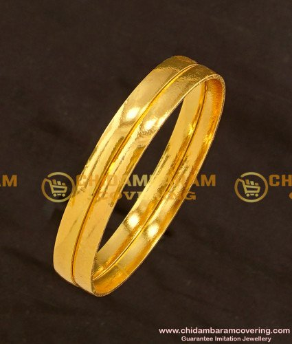 BNG115 - 2.8 Daily Wear Simple Plain Bangles Imitation Jewellery Buy Online