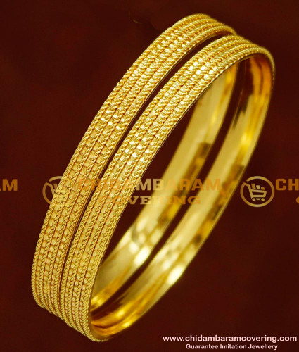 BNG149 - 2.6 Daily Wear Gold Plated Bangles Imitation Jewellery Buy Online