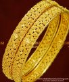 BNG152 - 2.8 Size Latest Elegant Floral Design High Quality Bangles Gold Plated Jewellery Online
