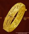 BNG162 - 2.6 Size Screw Type New One Gram Gold Kada Bangles Design for Ladies
