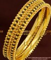 BNG173 - 2.4 Size Latest Design Black Beads Bangle Karimani Bangles for Women