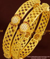 BNG177 - 2.8 Size New Fashion CZ Stone Bangles Design One Gram Gold Bangles Online