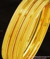 BNG276 - 2.6 Size Light Weight Daily Wear Non Guarantee Plain Bangle Set Of 4 Pieces for Women