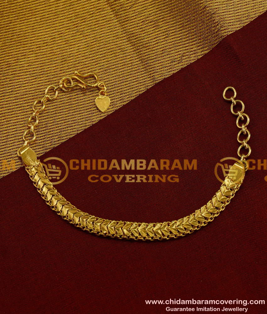 BCT06 -1 Gram Gold Link Chain Bracelet for Men & Women At Low Price Buy Online