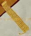BCT51 - One Gram Gold Bridal Gold Inspired Broad Bracelet Design for Wedding