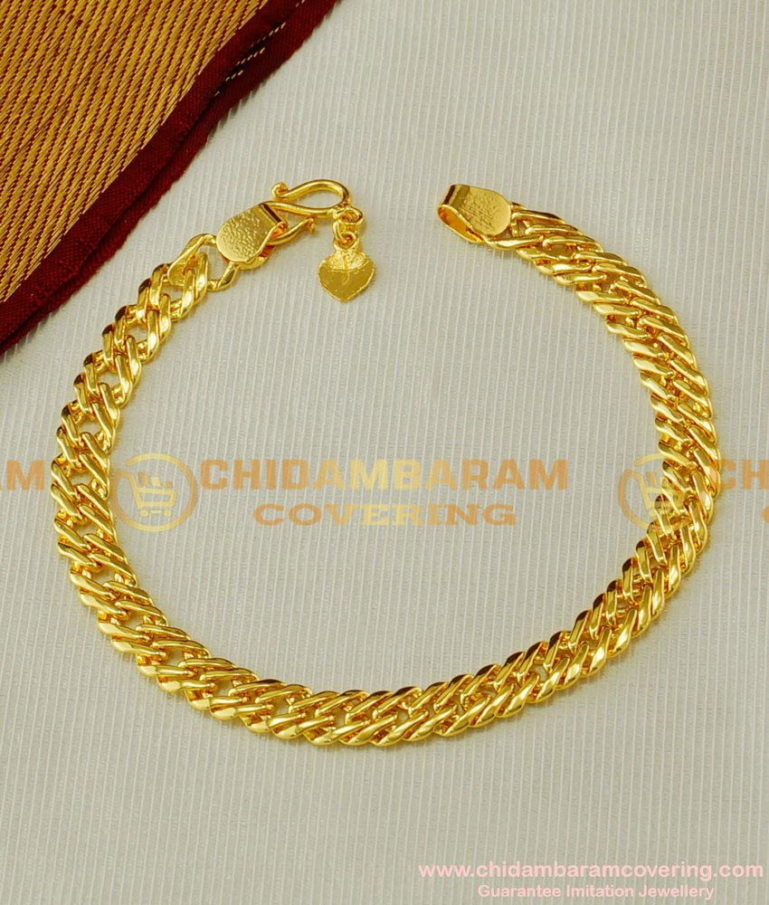 BCT55 - Light Weight Daily Wear Gold Design Stylish Bracelet Collection Shop Online