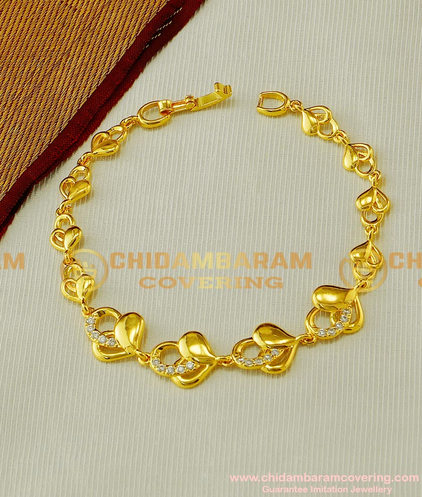 BCT61 - Designer Diamond Bracelet Designs for Ladies Imitation Jewellery