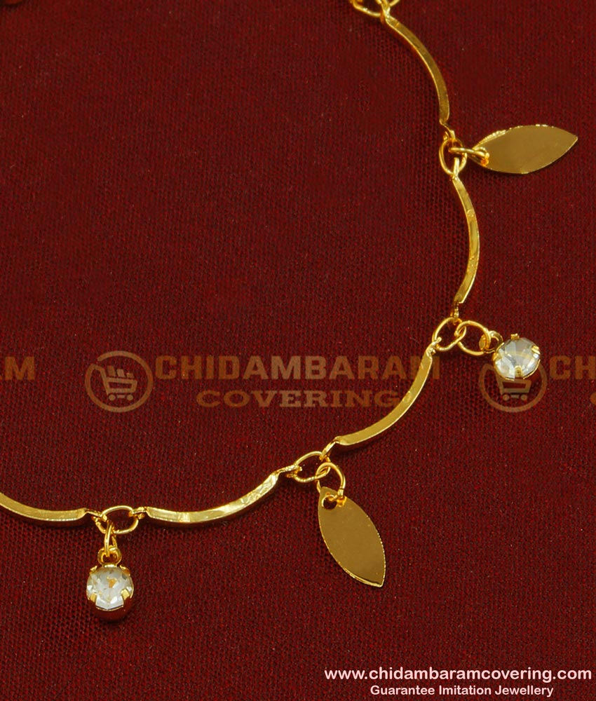 BCT70 - Cute One Gram Gold Daily Wear Modern Gold Bracelet Design for Women