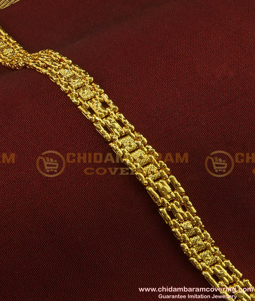 BCT79 - Latest Light Weight Gold Bracelet Design Gold Plated Guaranteed Jewellery Online