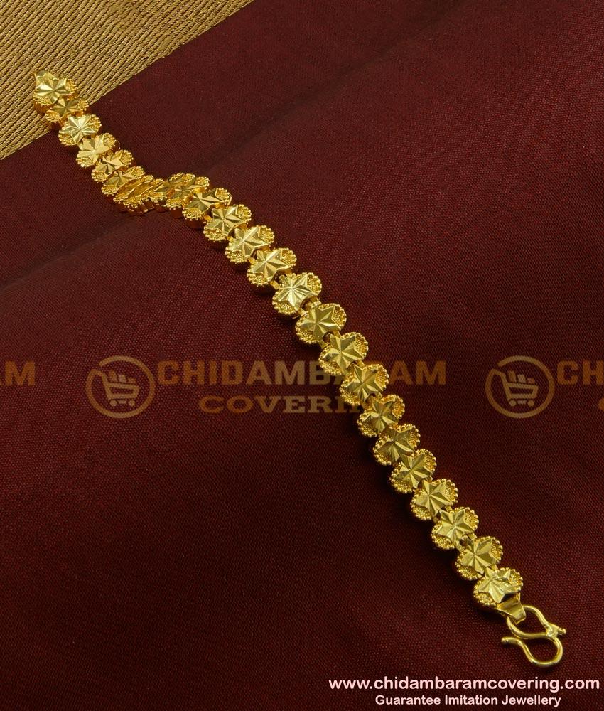 BCT82 - Latest Fashion Designer Gold Plated Bracelet Online Shopping at Best Price