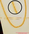 CHN014 - Gold Like Interlocked Spring Design Long Chain Fashion Jewellery Online