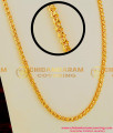 CHN018 – Pure 1 Gram Gold Plated Light Petal Spring Chain South Indian Traditional Jewellery