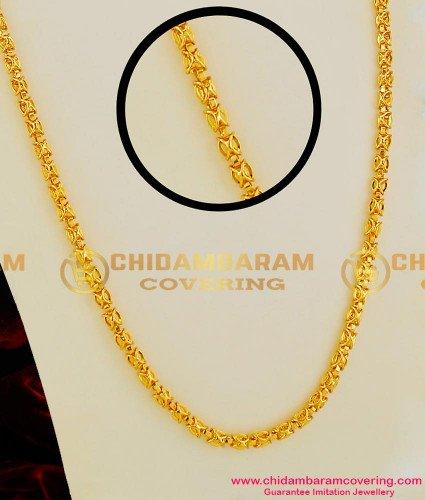 CHN019-LG - 30 inches Long Kerala Model Butterfly Fancy Chain South Indian Jewellery Buy Online