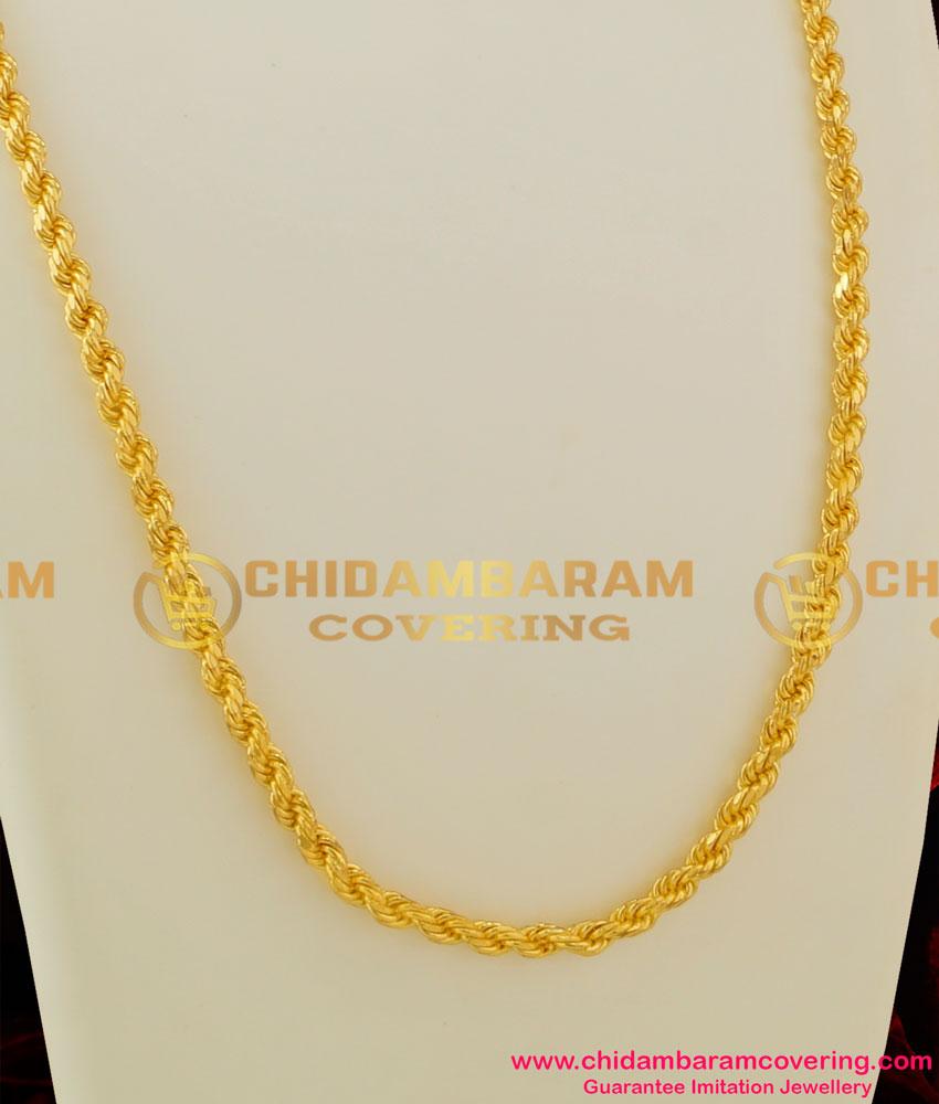CHN039 - Gold Plated Thirumangalyam Kodi (Thali Saradu) Chain