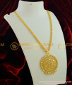 DCHN002 - Gold Plated Jasmine Chain With Handmade Coimbatore AD Stone Big Dollar