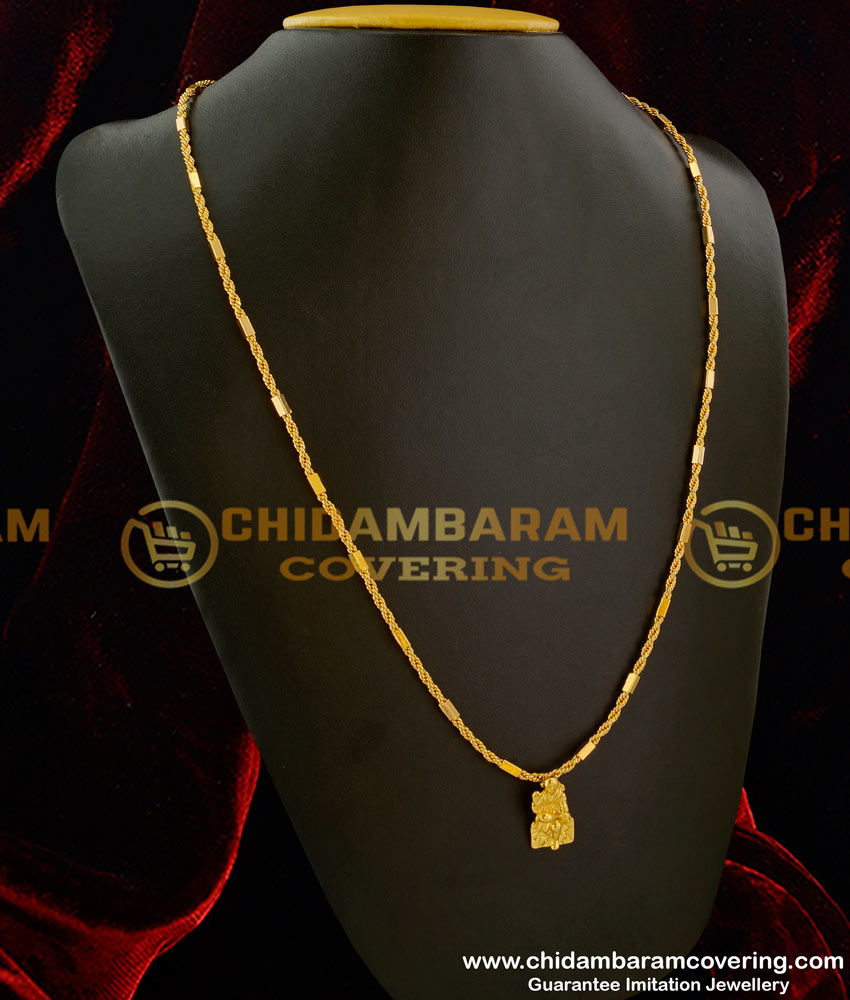 DCHN006 - Spiritual Shirdi Sai Baba Pendant with Long Chain Imitation Jewellery Purchase Online