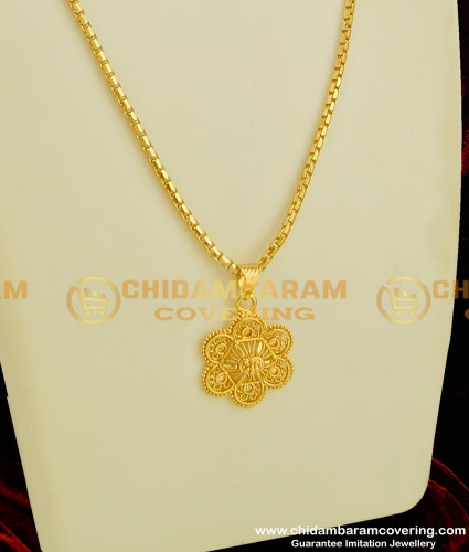 DCHN047 - New Collection of Guarantee Chain with Pendant at Best Price