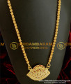DLR004 - One Gram Gold Plated Classic Impon Pendant with Jasmine Chain Special Offer Price Online