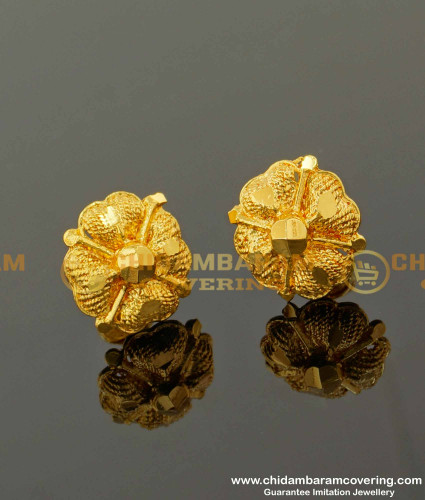 ERG095 – Traditional Flower Design Studs For Women Micro Plating Jewelry