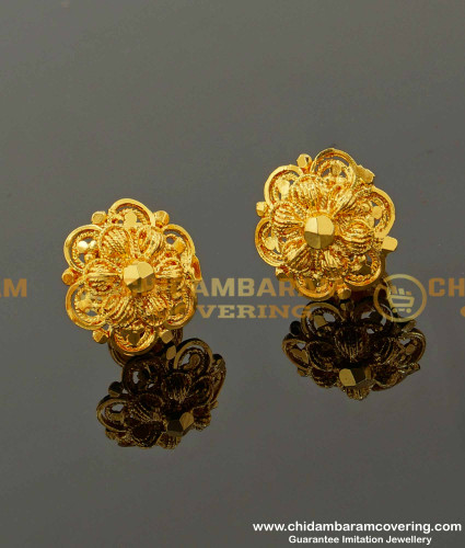 ERG098 – Classical Design Stud For Women Gold Covering Jewelry