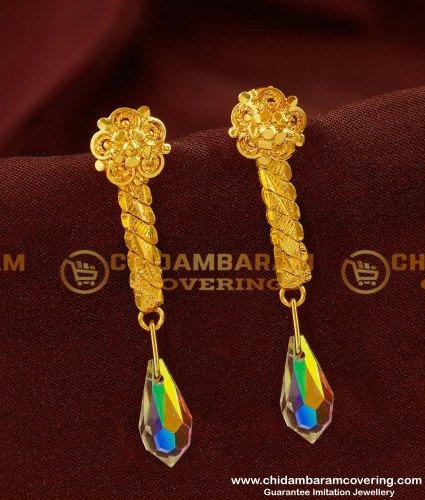 ERG144 - Fashionable Swarovski Crystal Beads Earrings for Girls