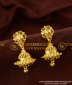 ERG163 - Daily Wear One Gram Gold Jhumki Designs for Girls