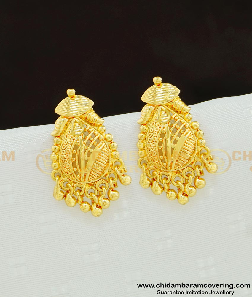 ERG612 - One Gram Gold Plated Daily Wear Small Size Studs Earring for Women