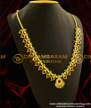 HRM047 - Traditional Kerala Gold Plated Red Palakkamala Jewellery for Hindu Marriage