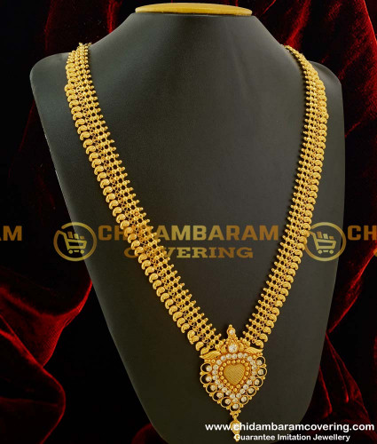 HRM080 –High Fashion Look Beads And Stone Mango Haram Design Gold Plated Online