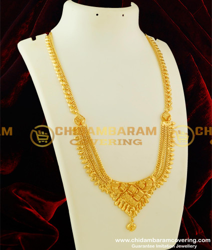 HRM124 - Pure Gold Plated Layered Haram Designs Indian Jewellery Online