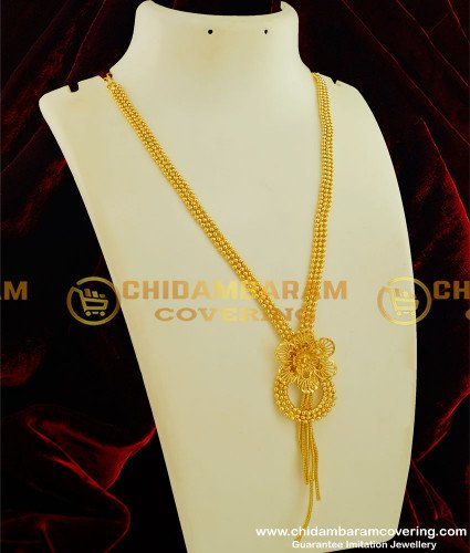 HRM183 - Stylish Western Pendant Chain Type New Light Weight Haram for Modern Girls
